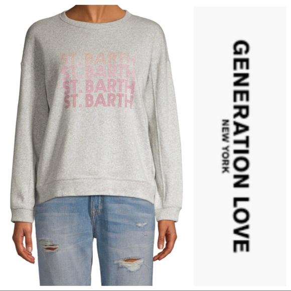 NWT Generation Love Logo Sweatshirt